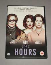 THE HOURS * DVD * Nicole Kidman * Meryl Streep * Virgina Woolf * DRAMA
