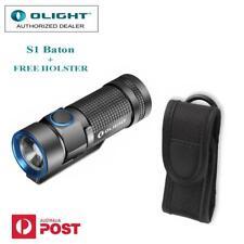 Olight S1 Baton 500 Lumens CREE XM-L2 LED TIR Lens CR123A Compact Flashlight