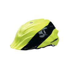 Catlike Mixino Road Bike Medium Helmet Rain Shell Cover Black Fluorescent Yellow