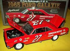 Cale Yarborough 1965 Ford Galaxie #27 Signed Autograph 1/24 NASCAR Legends New
