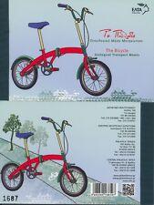 GRIECHENLAND - 2014 PRESTIGE MARKENHEFT 2778-81 TRANSPORT FAHRRAD BICYCLE **