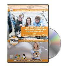 Der KFZ-Meister/-in Prüfungstrainer (Windows) mit über 2200 Lernfragen
