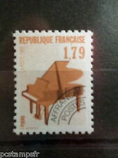 FRANCE TIMBRE PREOBLITERE 203, MUSIQUE PIANO, VF MNH stamp, MUSIC