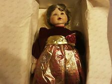 MARIE OSMOND TODLER SERIES JESSICAS FIRST CHRISTMAS 23 IN PORCELAIN NIB #357/500