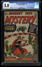 Journey Into Mystery #83 CGC GD/VG 3.0 Off White to White 1st Thor!