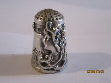 Dé a coudre en argent massif/  silver thimble/ Fingerhut Silber
