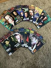 THE X FILES MONTHLY OFFICIAL GUIDE MAGAZINES x16 COPIES