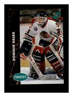 1991-92 Parkhurst Pro Set #263 Dominik Hasek RC Rookie Card MINT