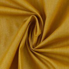 Stoff Baumwolle Luisa beschichtet, Acrylbeschichtung, Wachstuch, uni senf, Rest