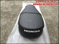 BRAND NEW HONDA SL125 SL100 COMPLETE SEAT // Metal base