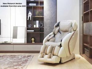 Weyron Monarch Massage Chair Recliner Zero Gravity PU Leather Shiatsu Best Chair