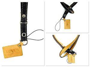 Levis Lanyard Neck Strap Card Holder Camera Mobile Phone ID Badge USB Keys  Gym