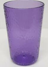 Purple Cup Stained Glass Pattern Solid Kitchen Plastic Glassware Drink Juice OJ