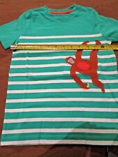BOYS MINI BODEN MONKEY T SHIRT AGE 5 6 YRS BODEN ANIMAL ANTICS MONKEYING AROUND