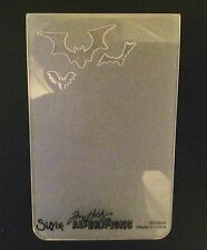 Sizzix Medium Embossing Folder MINI BATS  fits Cuttlebug Big Shot & Wizard