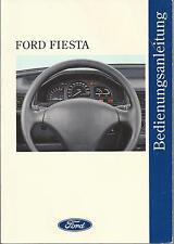 FORD   FIESTA    3     Betriebsanleitung   1994    Bedienungsanleitung   BA