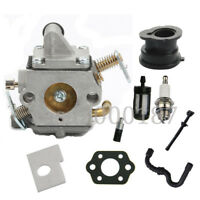 Carburetor For Stihl 017 018 MS170 MS180 Chainsaw Carb Gakset fuel oil line
