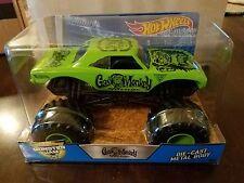 Hot Wheels 2017 Monster Jam 25 Years Gas Monkey Garage Green 1:24 Scale *NEW*