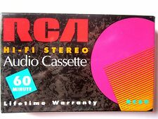 CASSETTE TAPE BLANK SEALED - 1x (one) RCA HI-FI STEREO 60 [1998] normal position