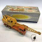 Vintage Dinky Supertoys 20 Ton Lorry Mounted Crane Crane Coles No. 972 Boxed #
