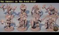 Warband DWARF OF THE DARK DEEP Mordheim warhammer DnD Rol Fantasy Skirmish NEW!!