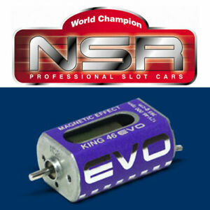 NSR 3029 King Evo Long Can 46,000 RPM Motor 1/32 Slot Car 46K