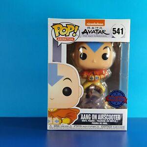 Aang on Airscooter Funko Pop Vinyl Figure Avatar The Last Airbender Exclusive