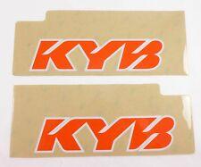 Upper Fork Debris Protectors KYB Decal Sticker Dirtbike Kawasaki Motorcrosss MX