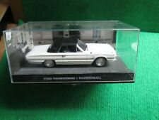 FORD THUNDERBIRD (THUNDERBALL) JAMES BOND CAR COLLECTION LOT B10