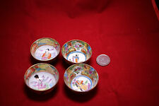 Antique Chinese Porcelain Cups 4 pieces