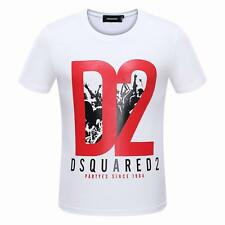 New arrival Men's DSQ2 T-shirts Tops Pop Tee Dsquared2 Letter 3647 Slim Fit