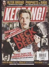 KERRANG MAGAZINE #1691 OCTOBER 2017, NECK DEEP on the cover.