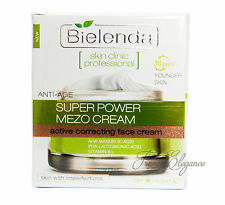 BIELENDA Power MEZO Anti-Age Correcting Cream imperfections enlarged pores Acne