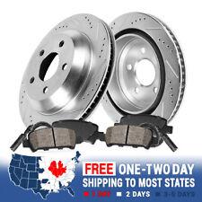 Rear Drill Slot Brake Rotors & Ceramic Pads For 528 535 Series Active Hybrid 5