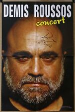 DEMIS ROUSSOS - Concert - Rare Polish Poster Signed