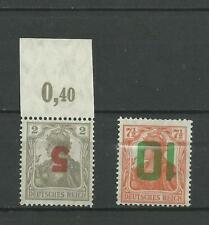 poland 1919 Gniezno INVERTED ** mnh