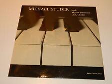 LP Michael STUDER spielt Mozart Schumann Liszt Chopin LUNA 30-241 THUN basel HUG