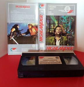 VHS  B 296 HILANDER L'ULTIMO IMMORTALE