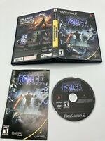 Sony PlayStation 2 PS2 CIB Complete Tested Star Wars: The Force Unleashed