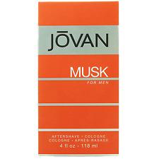 Jovan Musk Aftershave For Men 118ml
