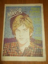 RECORD MIRROR OCTOBER 27 1979 NICK LOWE PAULA YATES SECRET AFFAIR SAD CAFE
