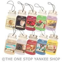 Yankee Candle Cardboard Car Jar air freshener - ADD 3 TO BASKET FOR OFFER