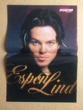 ESPEN LIND Original Vintage Star Poster Fantasy German Magazine Poster 1998
