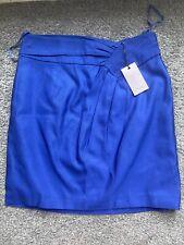 Coast Pattie Skirt Blue Size 12 BNWT