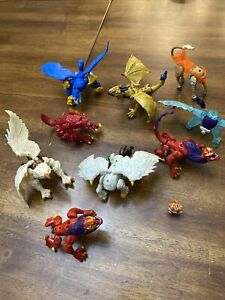 Mega Construx Breakout Beasts Lot - Incomplete - For Parts