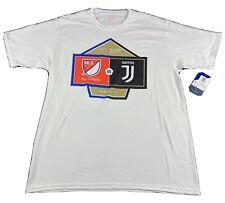 MLS vs Juventus 2018 Soccer All-Star Atlanta T-Shirt Size Large White NWT