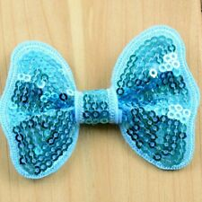 10x baby Girl kids wholesale joblot children butterfly bow hair with clip 6cm