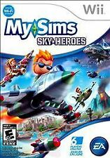 MySims SkyHeroes (Nintendo Wii, 2010) My sims Sky Heroes Complete Very Good