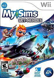 NEW FACTORY SEALED! MySims SkyHeroes  (Wii, 2010)