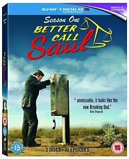Better Call Saul - Season 1 one(3 disc 10 episode blu ray set ) series one first